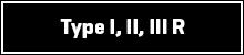 Type I, II, III-R